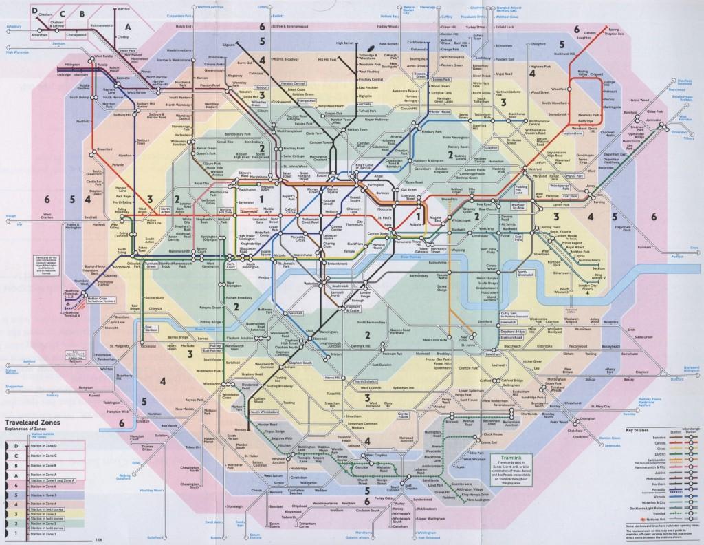 Mapa London Tube [2006]